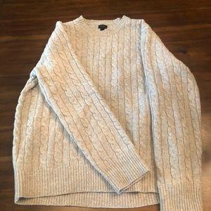 J.Crew cableknit lambswool Men's Sweater 2